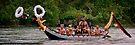 Māori/Tlinget Canoe on the Yukon River by Yukondick