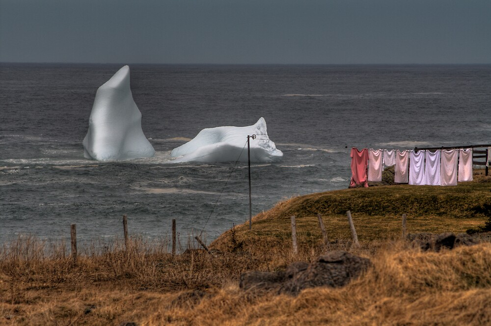 Laundry Day by Kevin  Kroeker