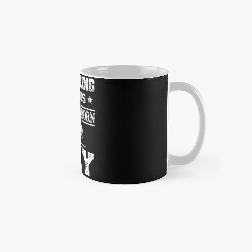 Wrestling Legends Are Born In July Birthday Gift Mugs