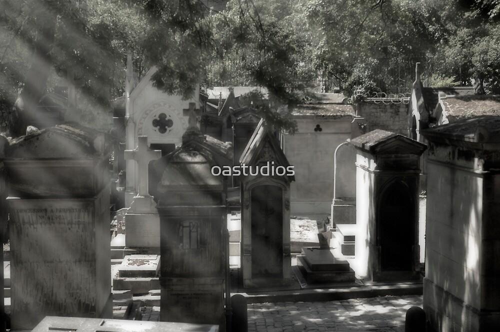 Paris Graveyard by oastudios