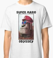 Super Mario Odyssey (Possesed Moai Design) Classic T-Shirt