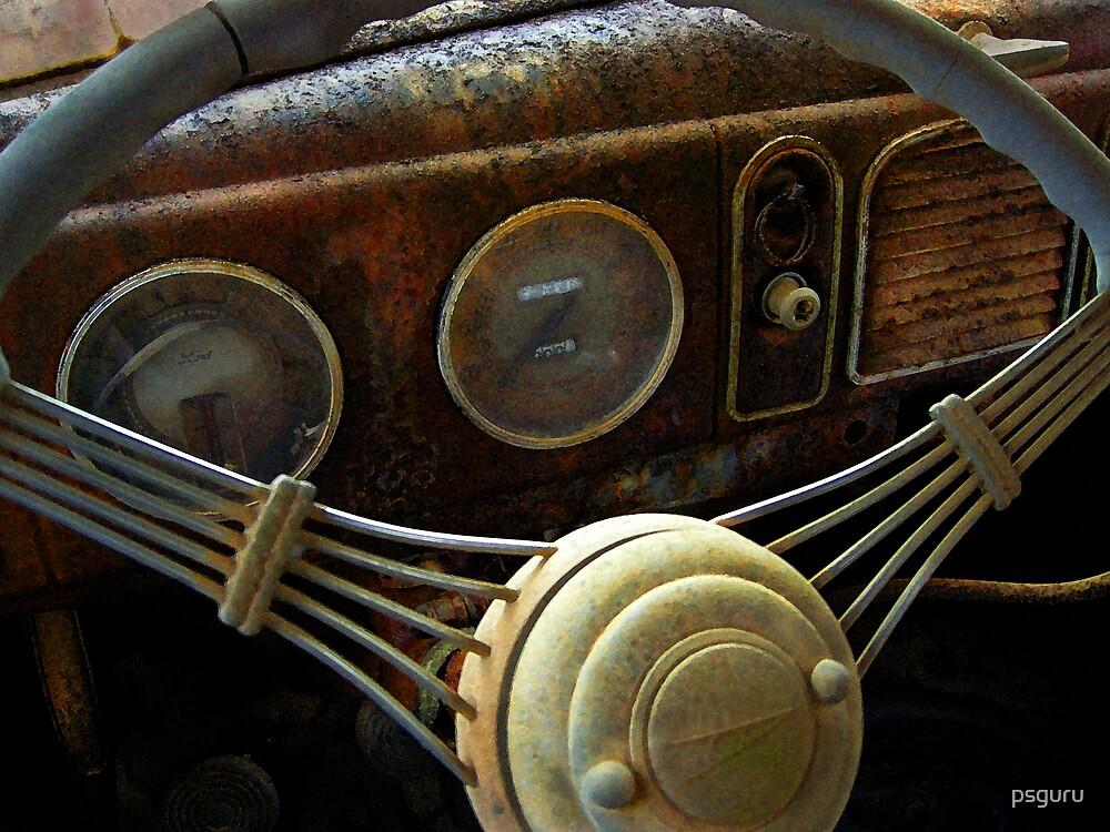 Rusted Dash board by psguru