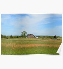 Manassas Civil War Battlefield Poster