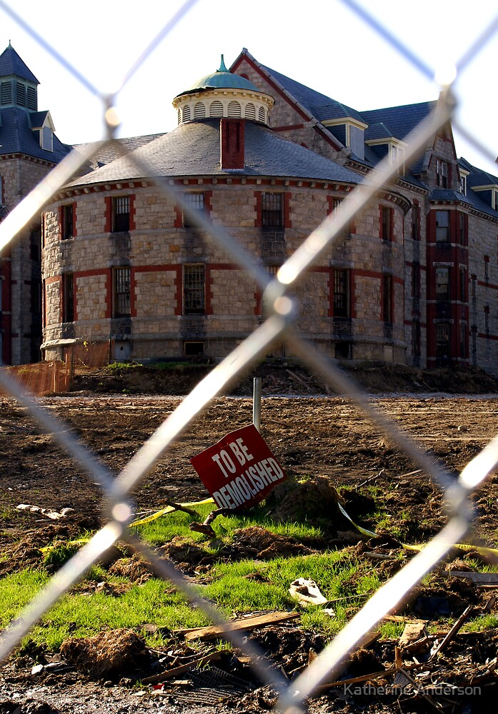 To Be Demolished by Katherine Anderson