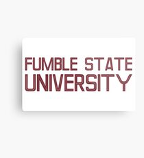 Fumble State University Metal Print