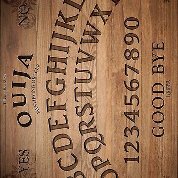 Mystifying Oracle (ouija board) by FuhrerDoodles