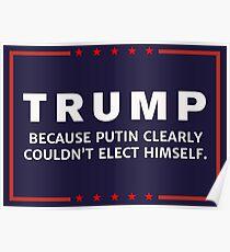 Anti-Trump Putin Elected You Poster