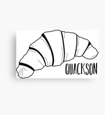 Quackson Canvas Print