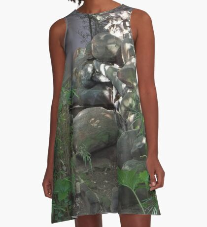 A sense of well-being A-Line Dress