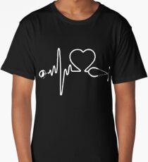 Nurse heartbeat Long T-Shirt