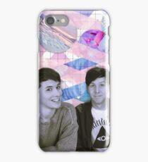 Dan and Phil Tumblr Aesthetic iPhone Case/Skin