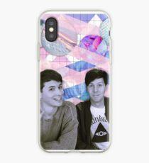 Dan and Phil Tumblr Aesthetic iPhone Case