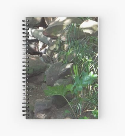 A sense of well-being Spiral Notebook