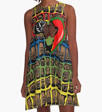 I Am Wakanda A-Line Dress