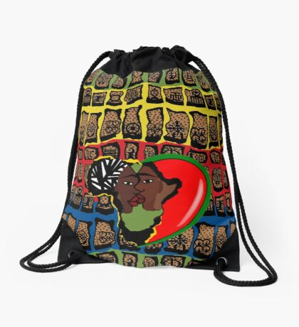 I Am Wakanda Drawstring Bag