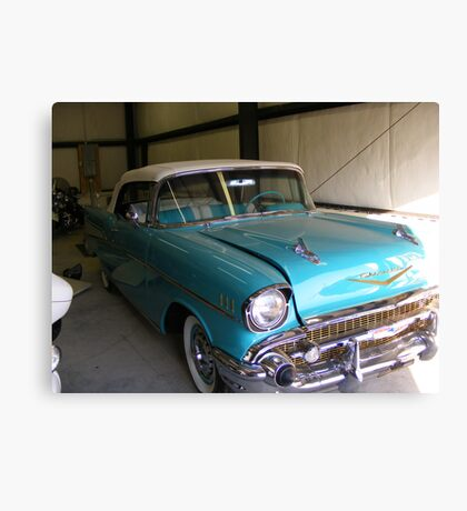 57' Chevy Canvas Print