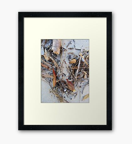 Salvage What You Need Framed Print