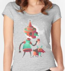 Skelly & Blep Women's Fitted Scoop T-Shirt