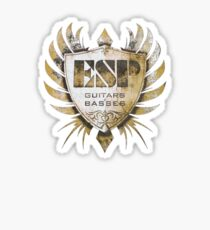 ESP Guitars and Basses Craft Academy Sticker