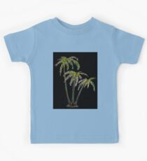 Rainbow Palm Trees Kids Clothes