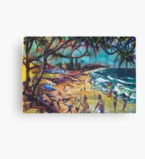 Coolum Beach Sunshine Coast Canvas Print