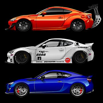 FRS - GT86 - BRZ by aquillacallista