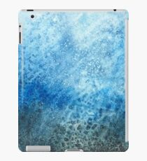 Blue Water Color iPad Case/Skin