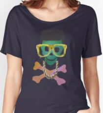 Retro Skull with Hightop Women's Relaxed Fit T-Shirt