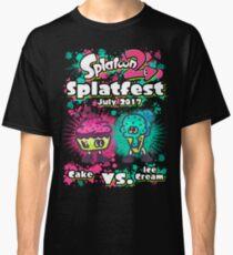 Splatfest 2 - July 2017 Cake v Ice Cream Classic T-Shirt