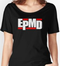 New EPMD Rap Hip Hop Music Classic Logo Women's Relaxed Fit T-Shirt