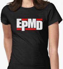 New EPMD Rap Hip Hop Music Classic Logo Womens Fitted T-Shirt
