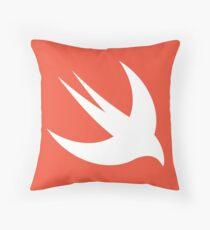 Swift Logo Throw Pillow