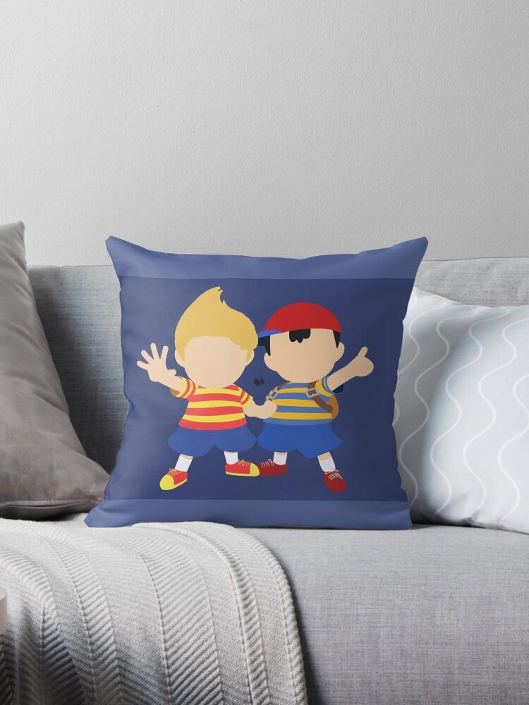 Ness & Lucas (Blue) - Super Smash Bros. by samaran