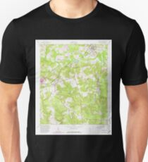 USGS TOPO Map Georgia GA Hephzibah 245909 1957 24000 T-Shirt