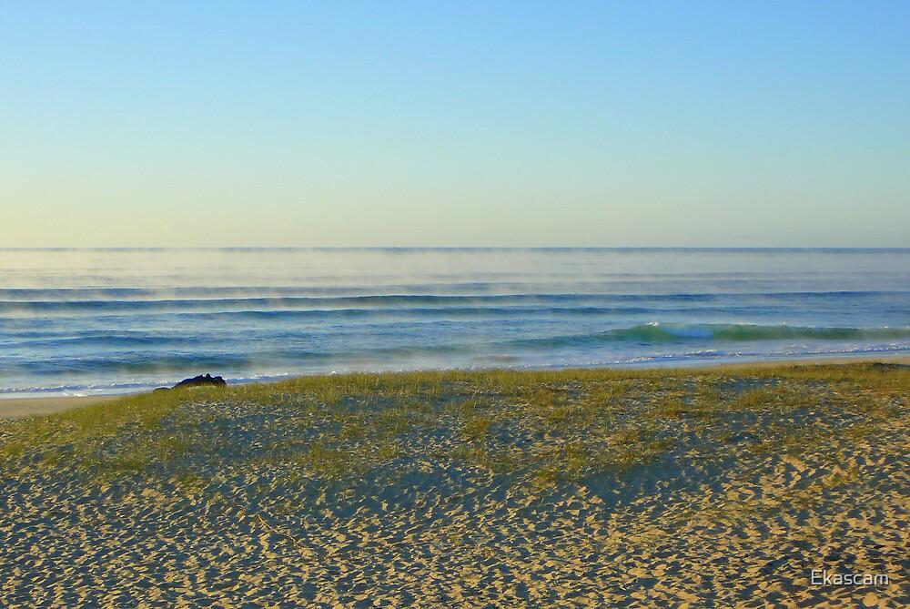 AUTUM AT THE BEACH by Ekascam