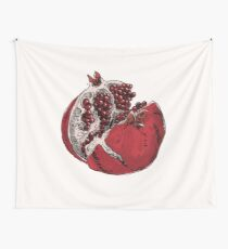 pomegranate drawing Wall Tapestry