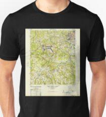 USGS TOPO Map Georgia GA Hephzibah 247472 1948 62500 T-Shirt