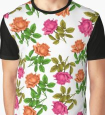 rose print  Graphic T-Shirt