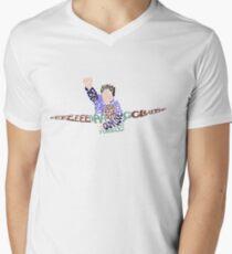 EEEAAAGGGLLLEEE Men's V-Neck T-Shirt