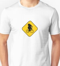 Beware of bike riding elephants T-Shirt