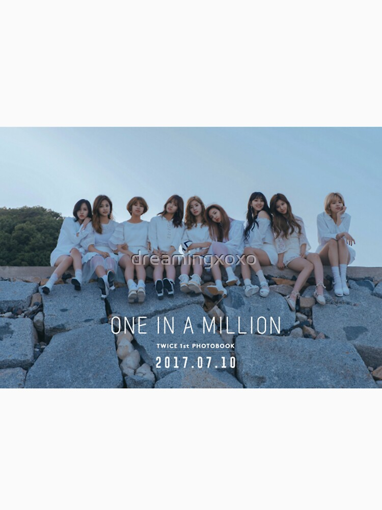 Twice One In A Million Photobook Women S Fitted V Neck T Shirt
