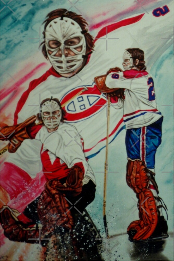 Ken Dryden by JohnnyMacK