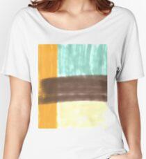 Retro Block Women's Relaxed Fit T-Shirt