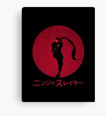 Ninja Slayer Canvas Print