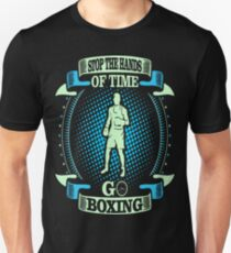 Stop The Hands Of Time Go Boxing Outdoors Tshirt T-Shirt  T-Shirt