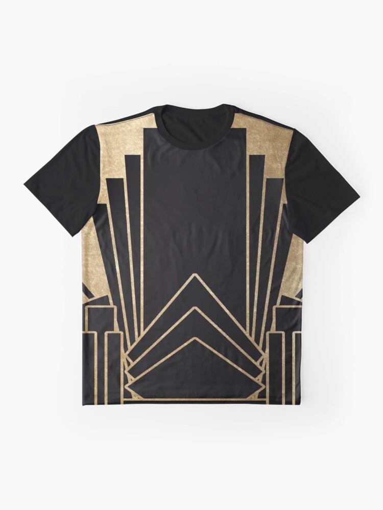 Alternative Ansicht von Art-Deco-Design Grafik T-Shirt
