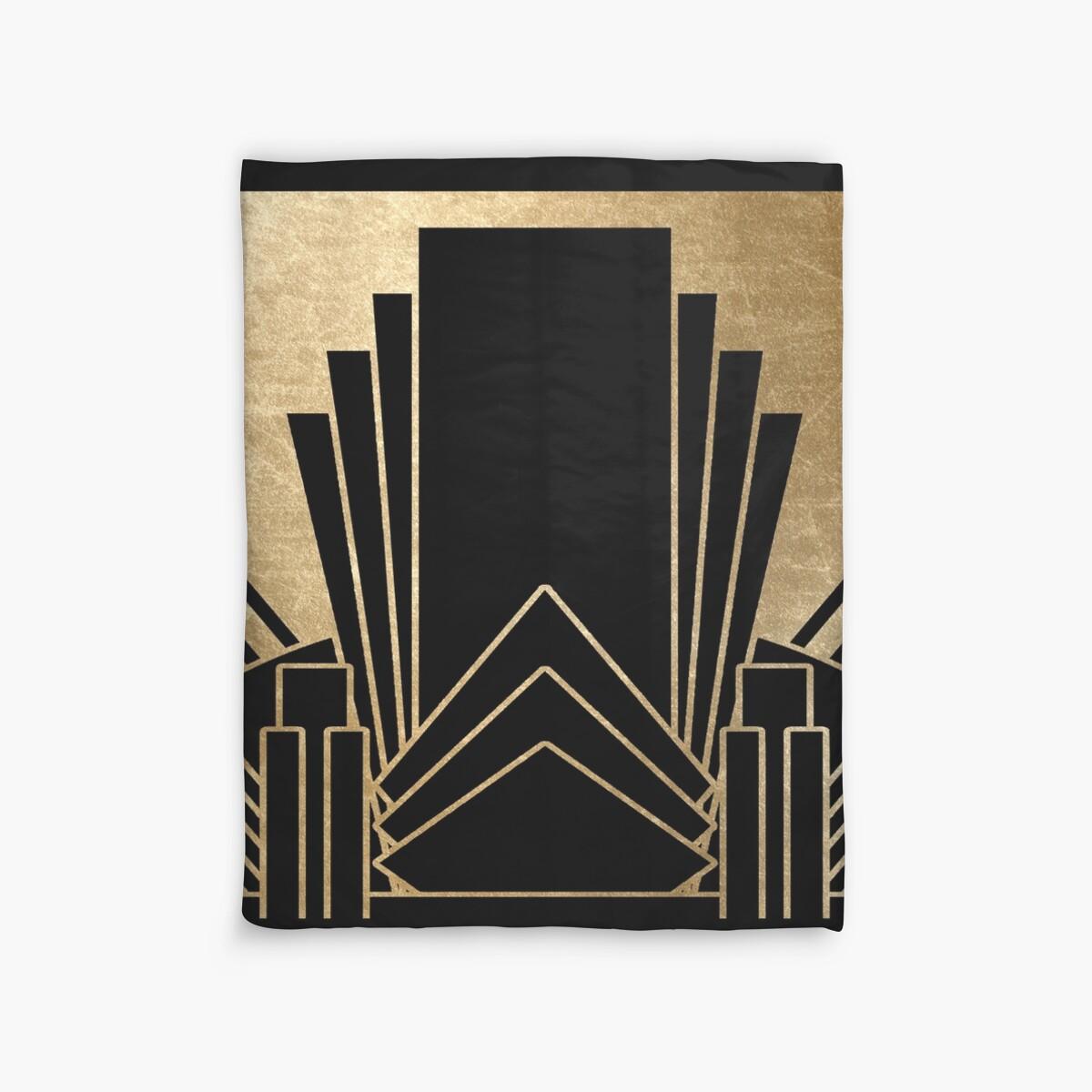 Quot Art Deco Design Quot Duvet Covers By Peggieprints Redbubble
