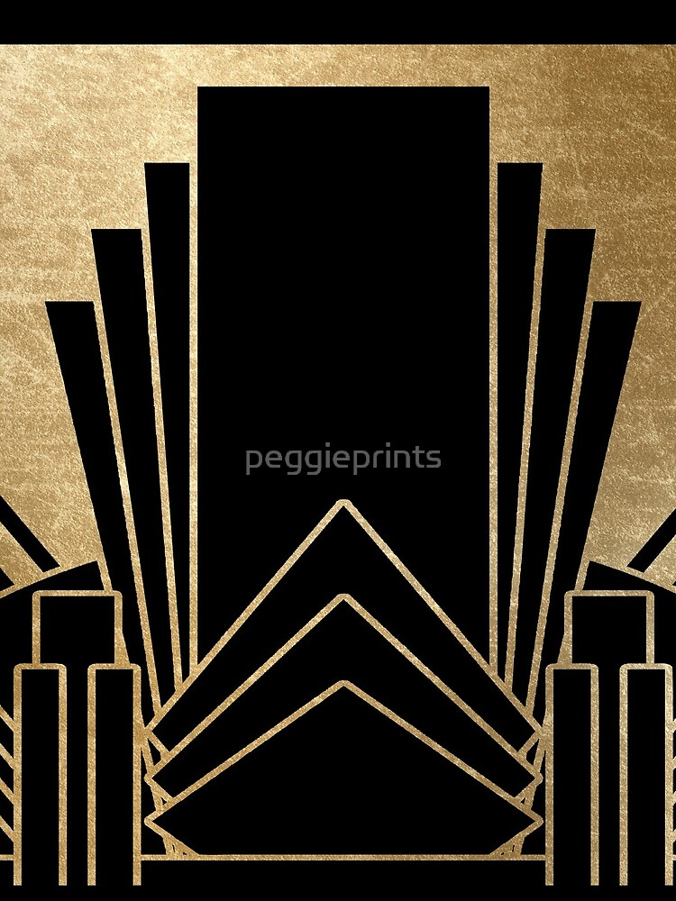 Art-Deco-Design von peggieprints