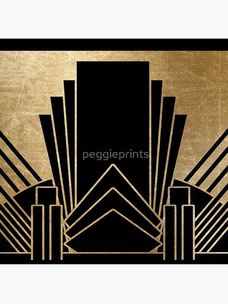 Art-Deco-Design von peggieprints