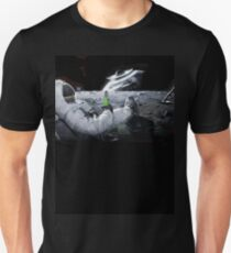 Earth From Moon Funny Sci-Fi Doom T-Shirt
